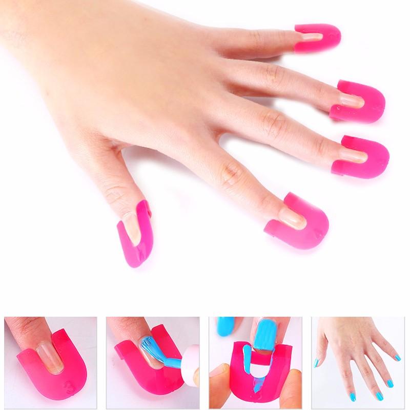 ღ ღ13pair(=26pcs)/ set Nail Art Polish Separating Palisade Tool ...