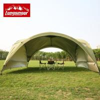 Summer outdoor super large camping tent canopy tent awning ...