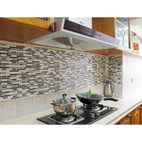 Fancy fix Vinyl Peel and Stick Decorative Backsplash ...