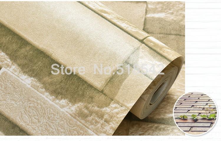3d mattoni di pietra rotoli di carta da parete soggiorno camera da