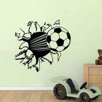 Football Decorative Vinyl Wall Sticker For Kids Rooms ...