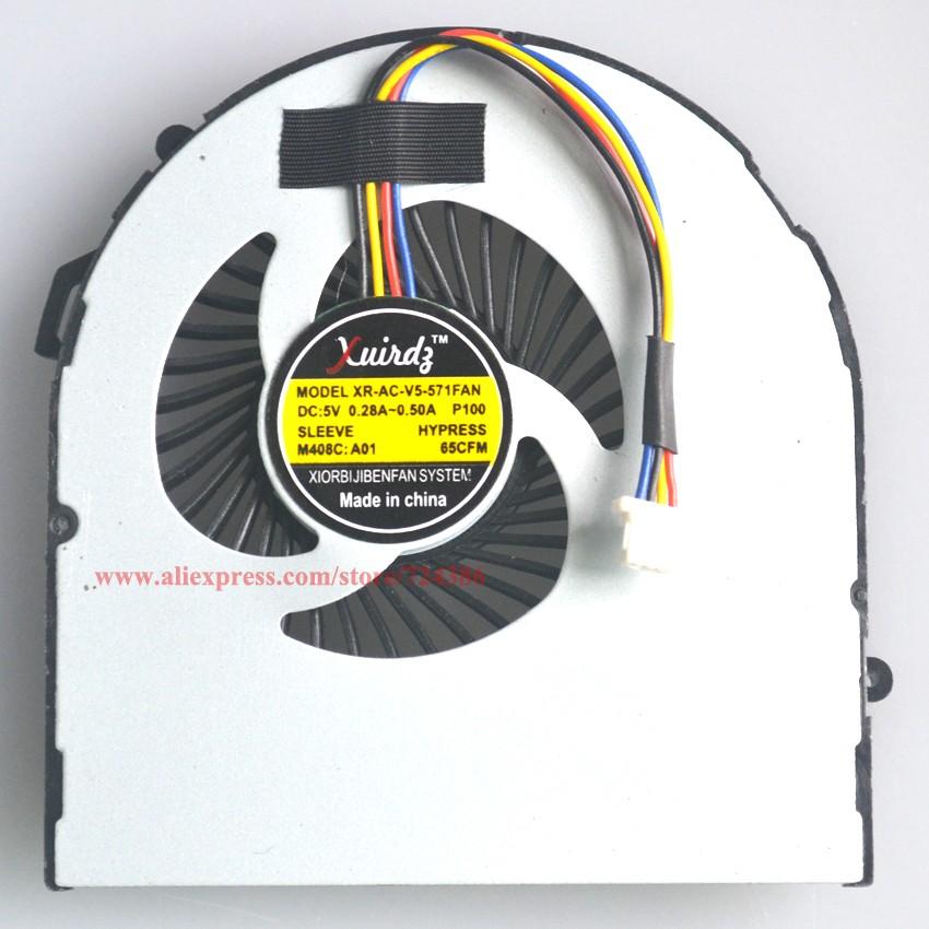 d8b9beeb ⊰Ventilador de refrigeración para acer aspire V5 V5-531 531G V5-571 ...