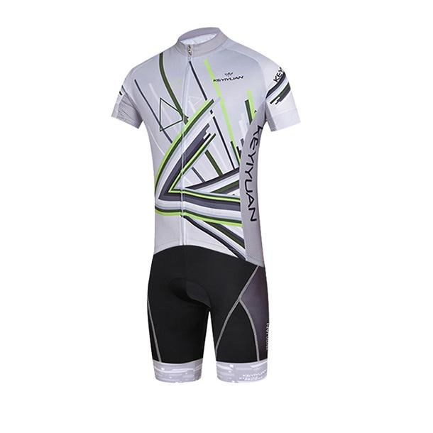 collant de cyclisme pour homme Ensemble haut de cyclisme sous-maillot effet seconde peau FDX Mens