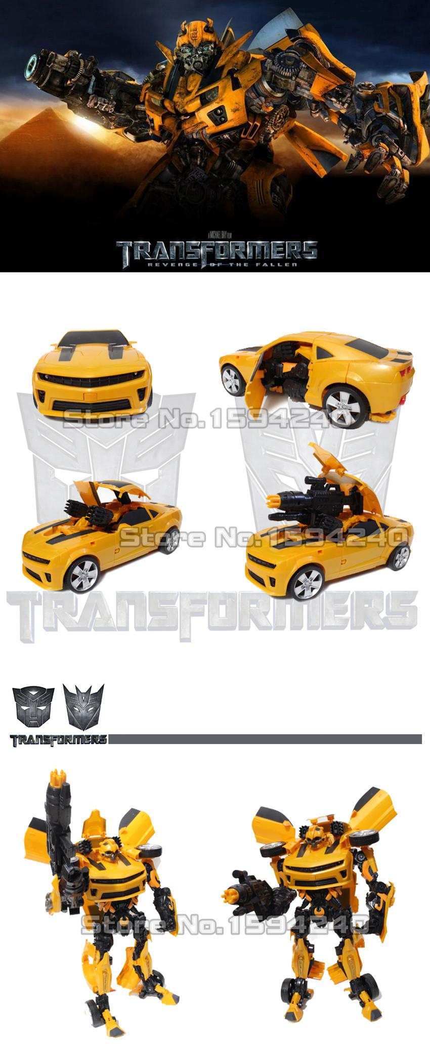 1 Action Figure toys 42cm robot Bumblebee Robocar car model Toys for children Education brinquedos meninos