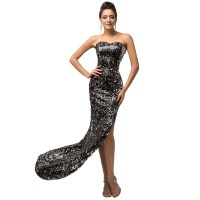 Aliexpress.com : Buy Long Prom Dresses 2016 With Crystal ...