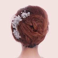 hair decorations womens crystal austrian rhinestone pearl ...