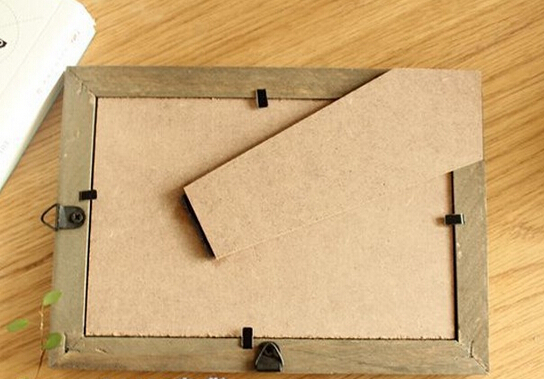 Pulluo 10pcs Suspendu Papier Cadre photo 3 couleurs carton Cadres Photo Avec