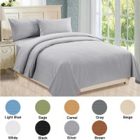 Luxury Bed Sheets Softest Fitted sheet Queen King Sheets ...