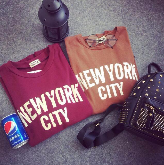 Click here!! Donne di estate carino clothing moda casual allentato lettera  o-collo del cotone del bicchierino-manicotto t-shirt plus size nero marrone  ... 1798e2e57a853
