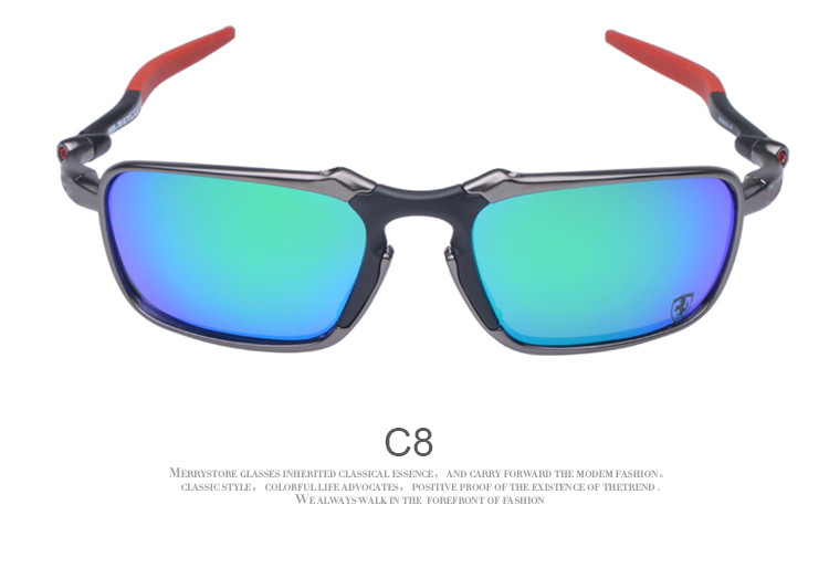 8a5e607f7e4 Original Brand Cycling Glass Polarized Sunglasses Alloy Frame Cycling Eyewear  With Logo oculos de sol OO6020