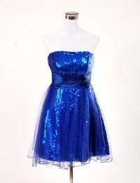 Blue Cocktail Dresses under 100 Promotion-Shop for ...