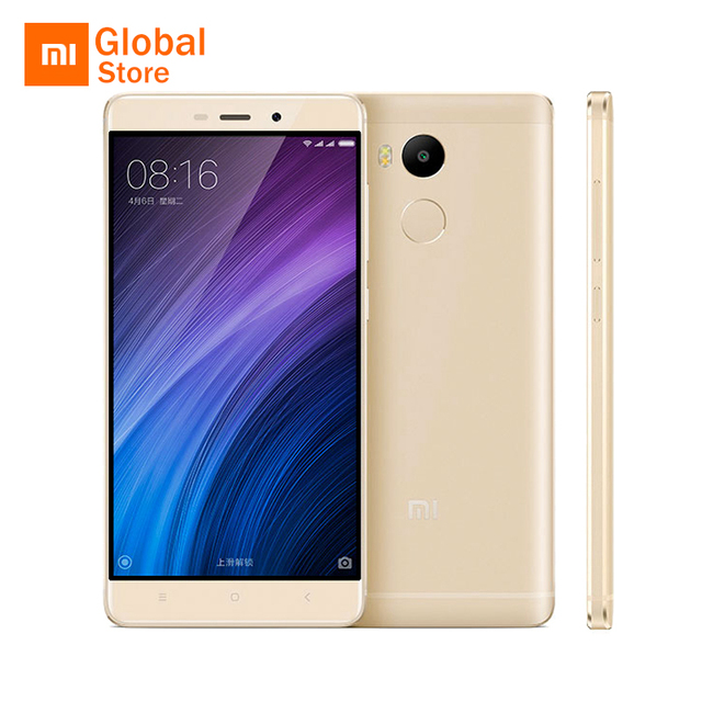 "Original Xiaomi Redmi 4 Pro Prime 3GB RAM 32GB ROM Mobile Phone Snapdragon 625 Octa Core CPU 5.0"" FHD 13MP Camera 4100mah"