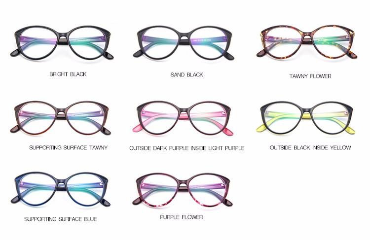 272799f8ae Spectacles Women Of Transparent Glasses Acetate And Vintage Eyeglasses  Frame Cat Eye Full-Rim kly2364