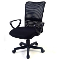 Adjustable Plastic Mesh Ergonomic Office Chair Armchair