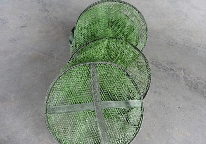 ✓Cola de pescado protección Pesca peces Net Cuidado cesta de ...