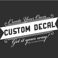 Custom Letter Decal Reviews