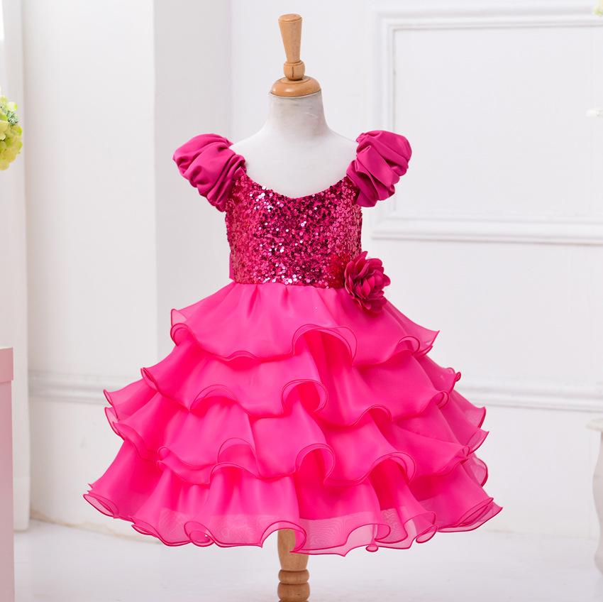 ∞Nova Moda Vestido de Noite das Crianças Da Menina Da Princesa ... 5584c85c7aff5