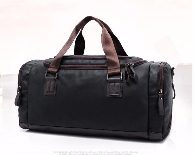 6b8c876da72b ٩(^‿^)۶Модный бренд Для женщин Дорожные сумки большой Ёмкость кожа ...