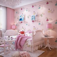 2016 New Arrival Cute Ballet Princess Wallpaper Lovely