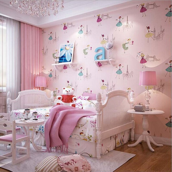 Cute Wallpaper for Little Girls Room