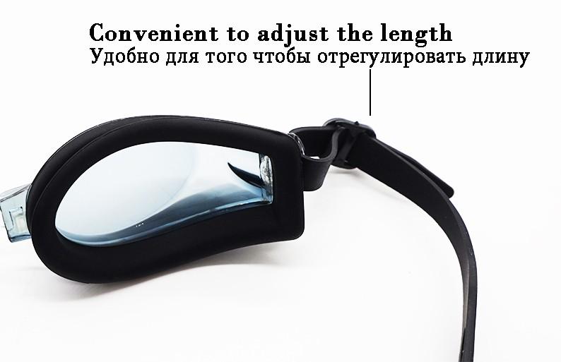 2e07c07f38a42 ᓂNatação Óculos para correção de miopia 2 a 8 dioptrias dioptrias ...