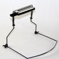 New Chromatic Harmonica Holder For Buskers Mouth Organ