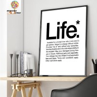 living room modern print poster painting home decor ...