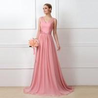 Blush Chiffon Bridesmaid Dresses   www.imgkid.com - The ...