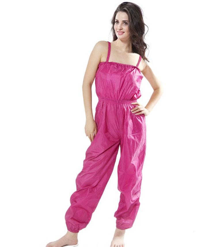 9228516025 Aerobic ropa pérdida de peso traje pantalones de adelgazamiento ...