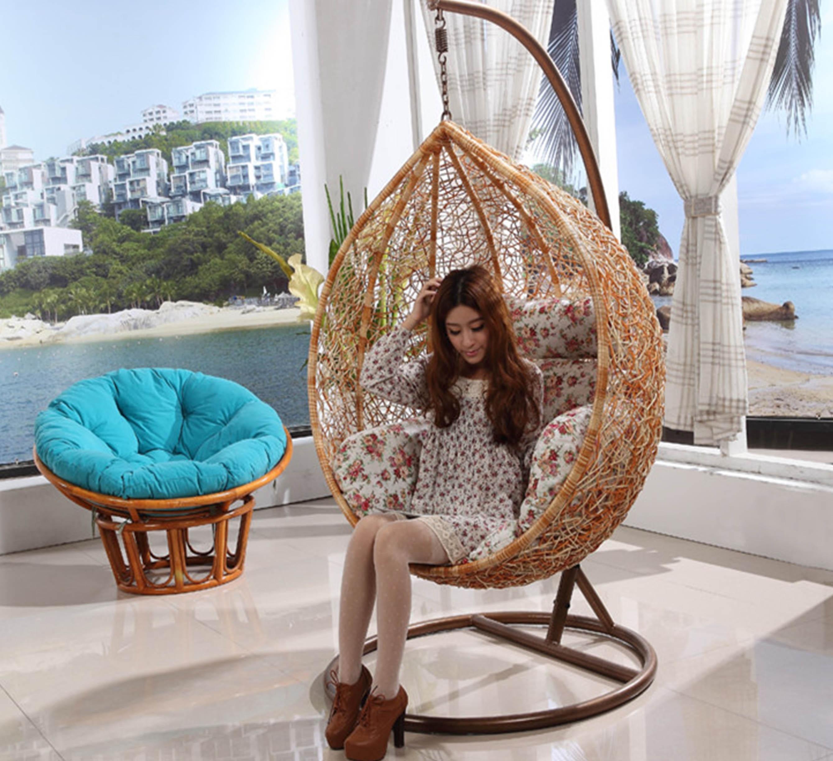 hanging basket chair indoor stidd accessories outdoor furniture balcony rattan swing