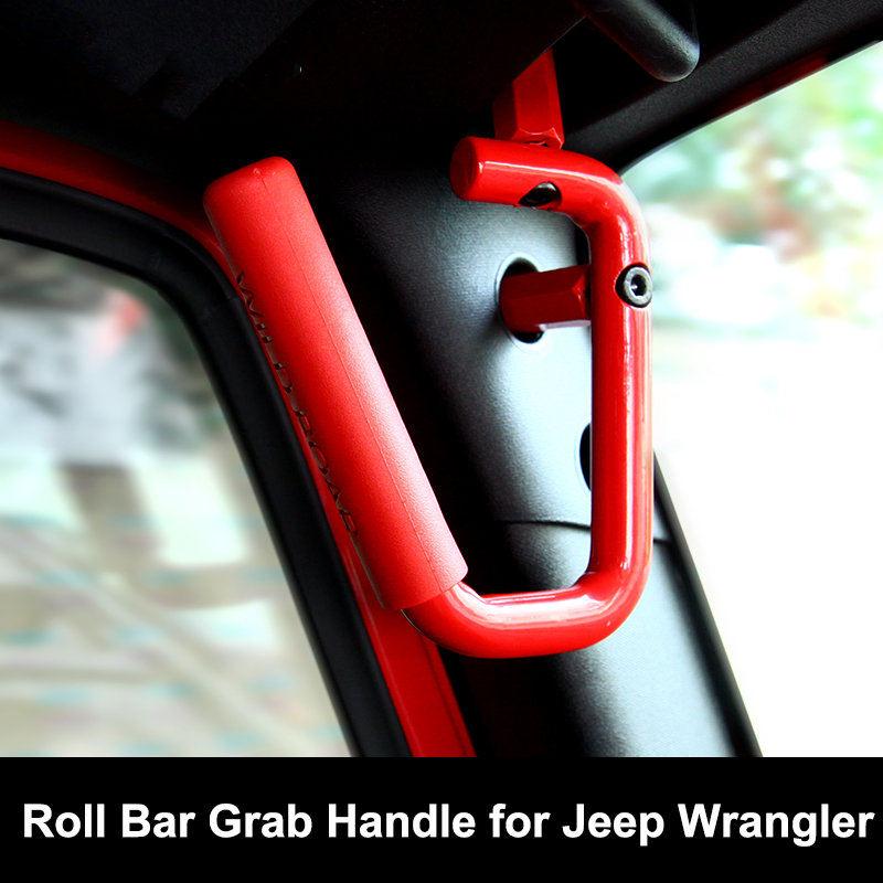 Lot de 2 verins de lunette Jeep Wrangler