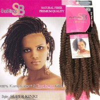 new fashion! kinky twists kanekalon synthetic hair ...
