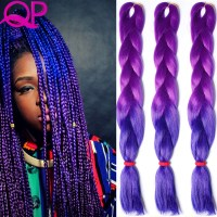 The gallery for --> Purple Braiding Hair