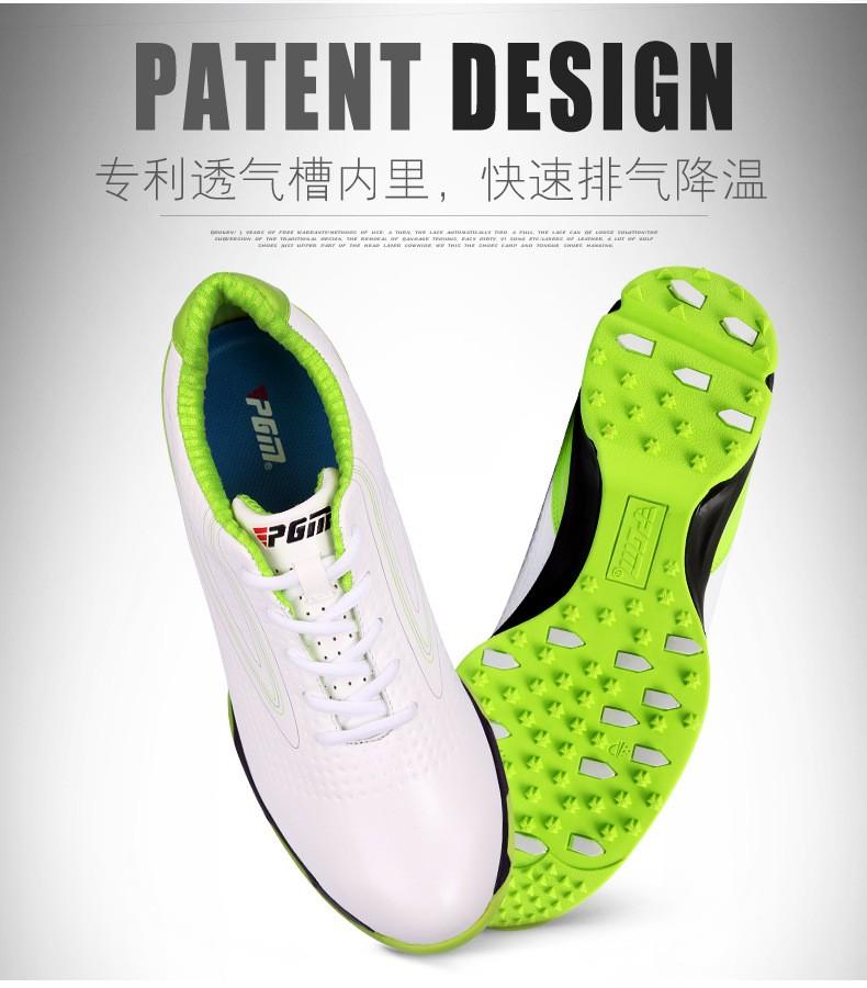 299581bc6 ⑤2018 г. Zapatos de Гольф PGM подлинной продажа 3D валик Туфли для ...