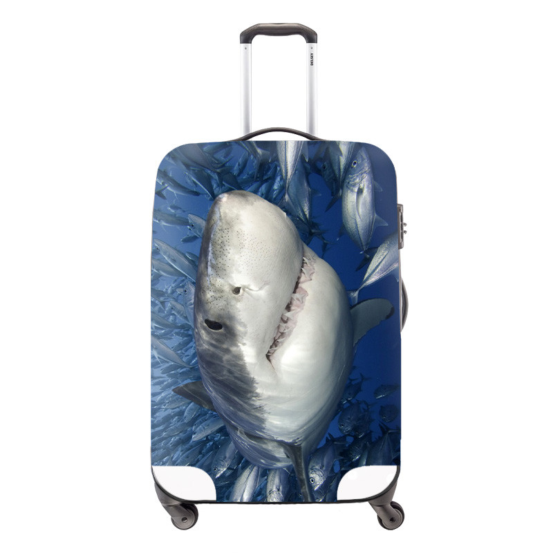 Elastic Style Travel Accessories for 18-30 inch Suitcase Cute Waterproof  Owl Luggage Protect Cover 46f2e388173