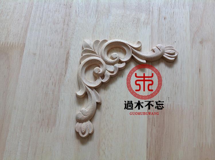 ᐃwood dongyang wood carving wood fashion corners applique corner