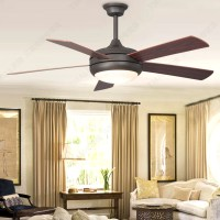 Simple-European-wood-blade-ceiling-fan-light-simple ...