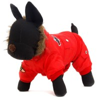 Small Medium Pet Dog Clothes Hooded Jacket Coat for Dogs ...