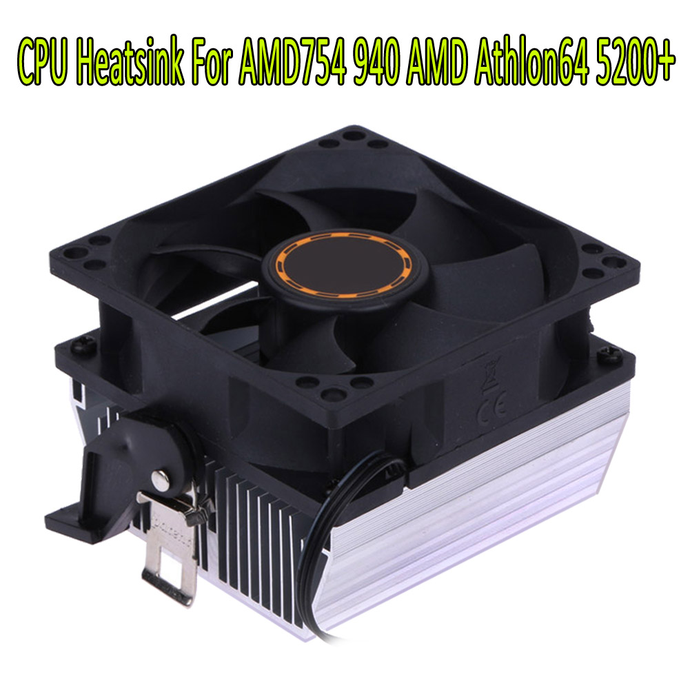 with 11 Blades 4 Pins // 3 Pins Dc12V 6 cm Silence CPU Heatsink Fan Cooling Fan