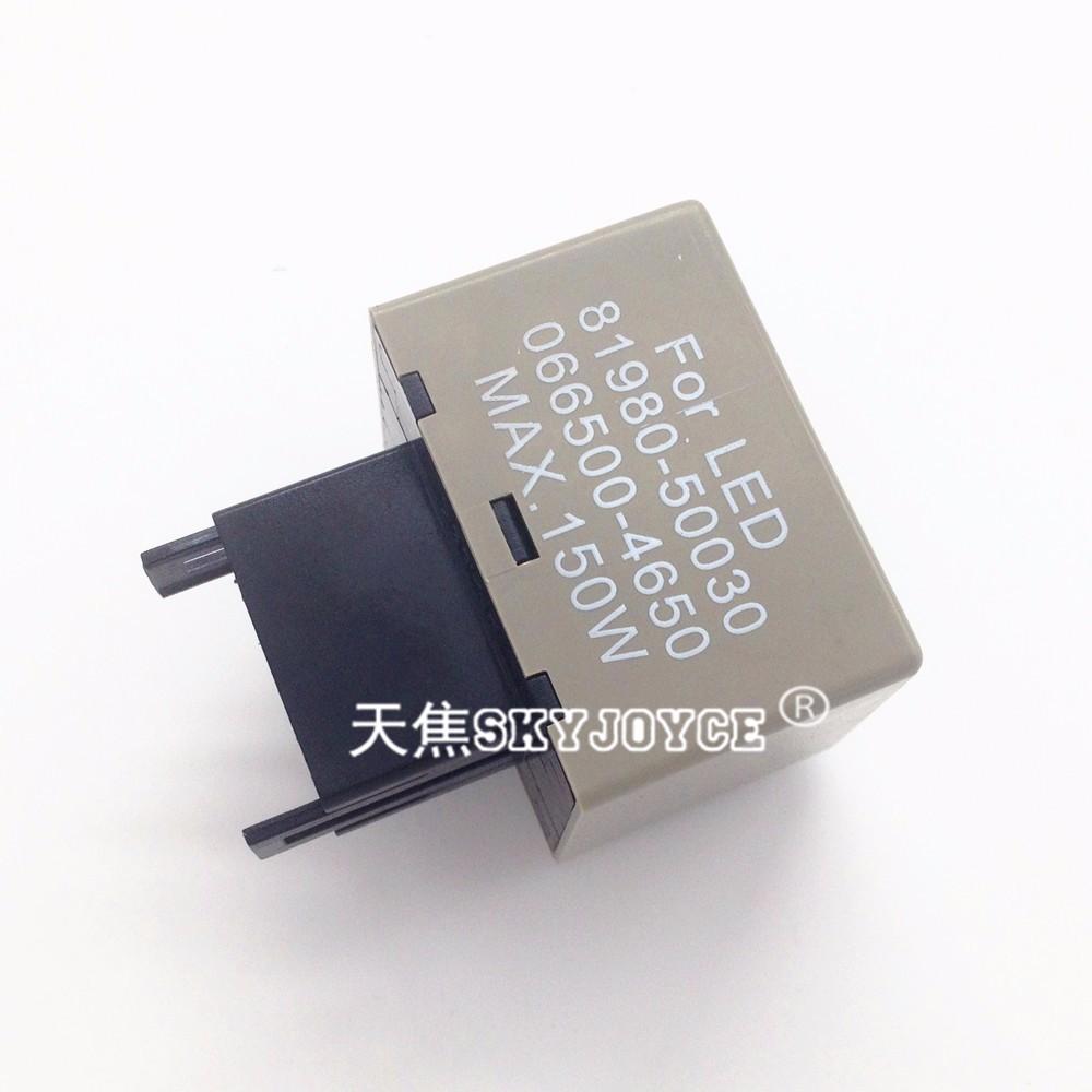 10x 12v car motorcycle led flasher led relay module 8 pin adjustable car flasher led  [ 1000 x 1000 Pixel ]