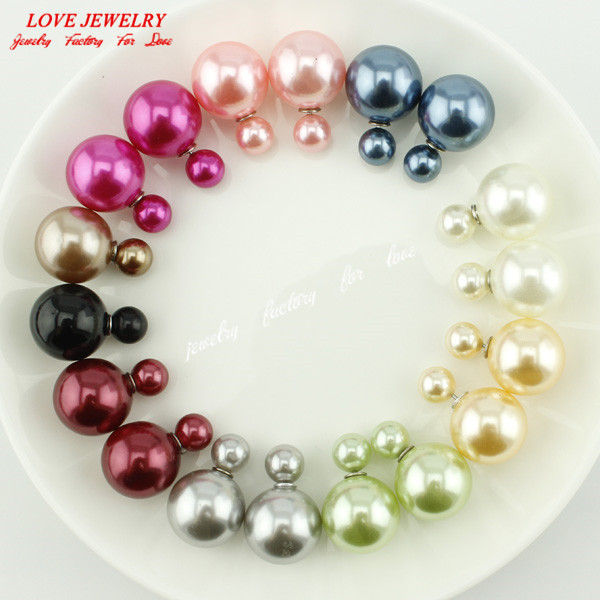 4ca324015 10 Pairs Lot Wholesale Pearl Stud Earrings 2016 New - Inspirational ...