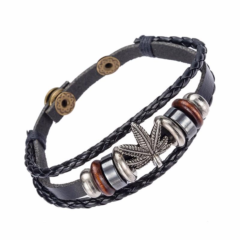 """Feuille D/'Or Fleur Creux Design 3/"""" Réglable Bangle Cuff Bracelet"""