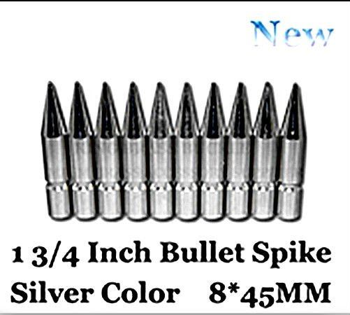 25-Giant-Bullet-Spike-1-3-4--Solid-Brass-Spike-Free