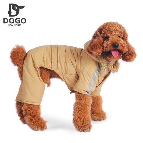 New dog clothes winter coat thick waterproof dog coat legs