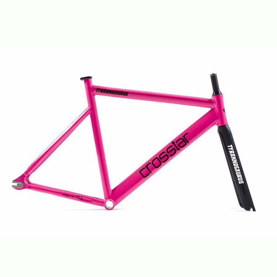 ᐊfixed gear bike frame 53cm 55cm 58cm TYRANS T2 FRAMESET TRACK ...
