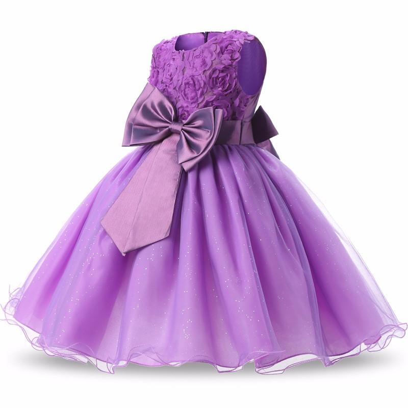 Aini Babe 1 año de fiesta vestido niña vestidos de bautizo niños ...