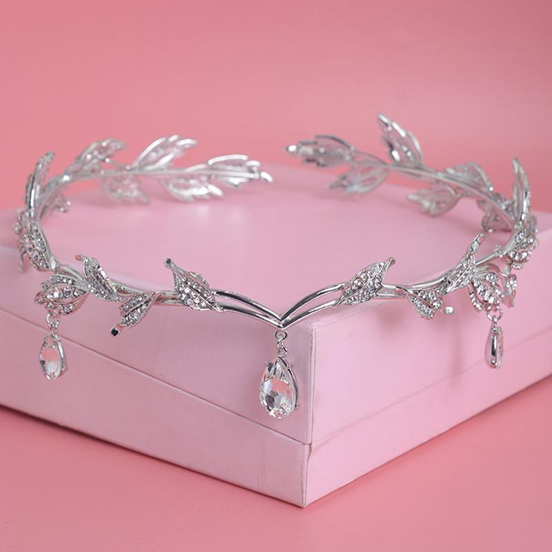 Crystal Crown Bridal Hair Accessory Wedding Rhinestone
