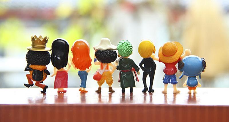 PVC Figure Collection Jouet Cadeau de Noël en boîte Anime One Piece POP Sanji Battle Ver