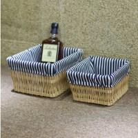 Decorative wicker baskets Small & large wicker storage ...