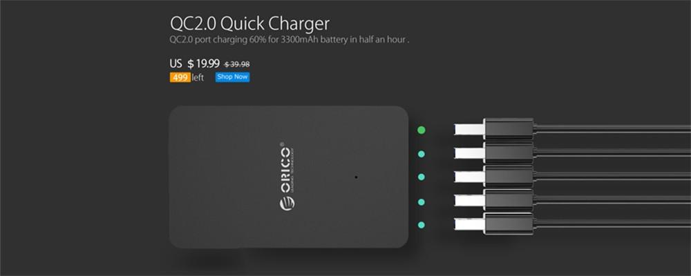 ORICO HPC-6A5U-האיחוד האירופי-מה המשרד הביתי איחוד אירופי תקע USB מטען נסיעות מתאם עם 6 שקע מפצל Surge Protector